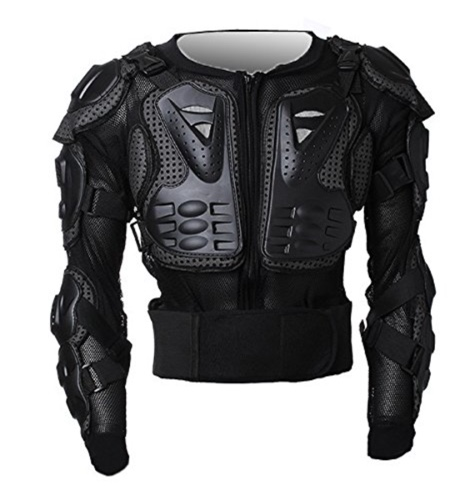 MOTORCYCLE JACKET SPINE CHEST GEAR ARMOR OFF ROAD PROTECTOR MOTORCROSS RACING CLOTHING