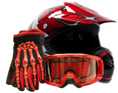 TCMT DIRT BIKE HELMET