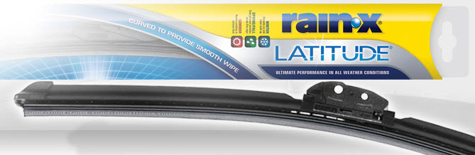 Rain-X Latitude Windshield Wiper Review
