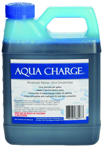 Aqua Charge Windshield Washer Review